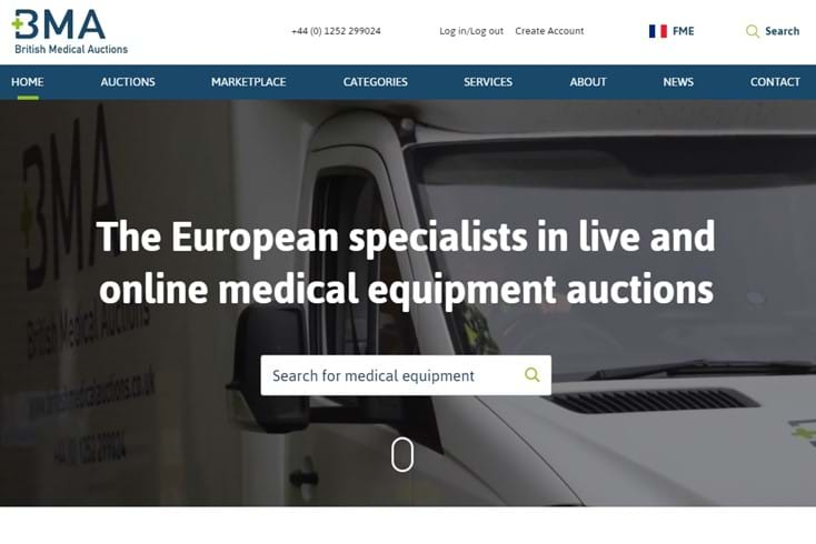 New British Medical Auctions Website Launched Card Image